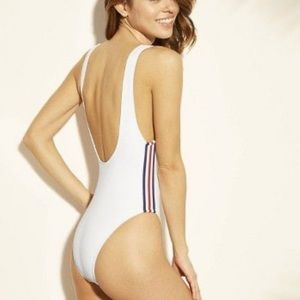 NWT Patriotic Sport Scoop One piece swimsuit
